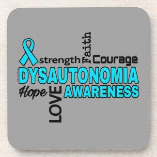 Words...Dysautonomia Drink Coaster
