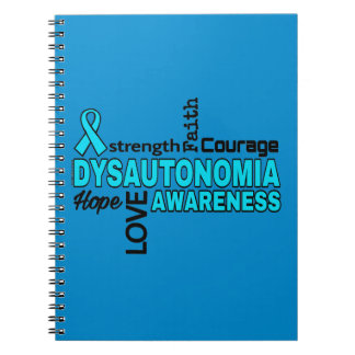 Words...Dysautonomia Spiral Notebook