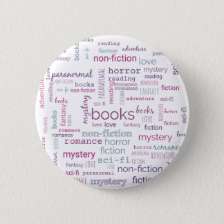 Words for Books 2 Inch Round Button