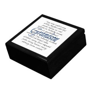 Words for Grandson Gift Box