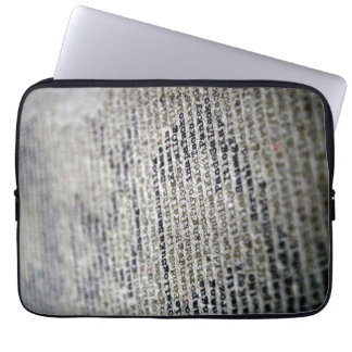 Words Laptop Sleeve