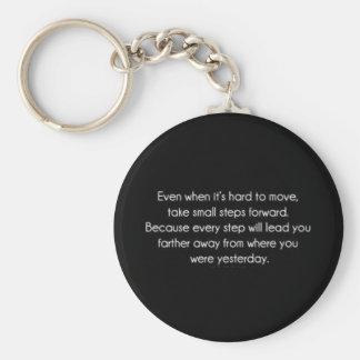 Words of Encouragement Basic Round Button Keychain