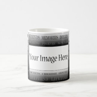 Words Of Friendship-Picture Frame by ShirleyTaylor Coffee Mug