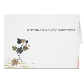 words of hope greeting card