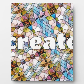 Words of Inspiration - Create Plaque