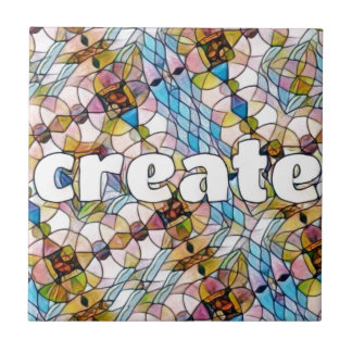 Words of Inspiration - Create Tile