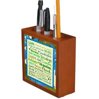 words of wisdom desk organizer