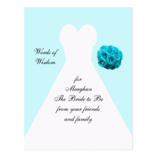 Words of Wisdom for Marriage Post Cards