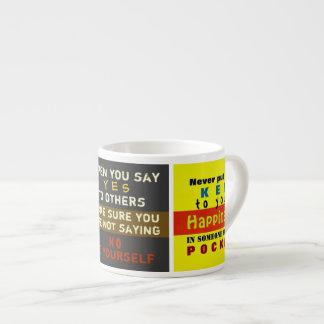 Words on a Mug ~ Espresso Mug