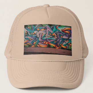 #Words on My Mind by WABSTreetArt Skater Hat