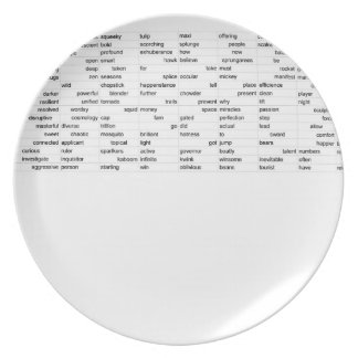 words party plates