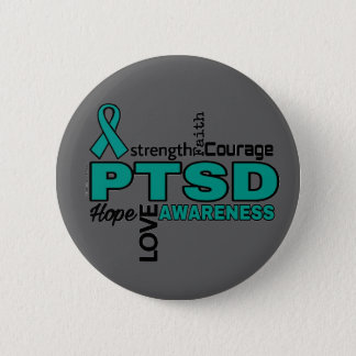 Words...PTSD 2 Inch Round Button