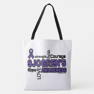 Words...Sjogren's Tote Bag