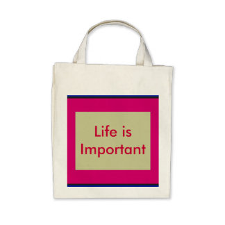 Words To Live By Bags