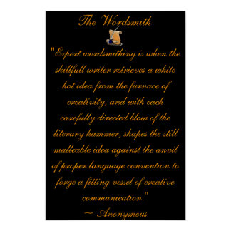 Wordsmith Poster
