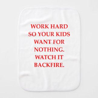 WORK BURP CLOTHS