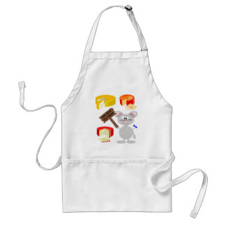 Work For Cheese Standard Apron