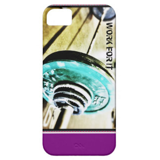 Work For It Barbell iPhone 5/5s Case