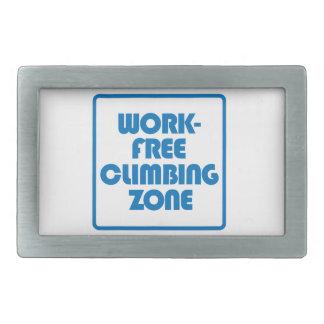 Work Free Climbing Zone Belt Buckles