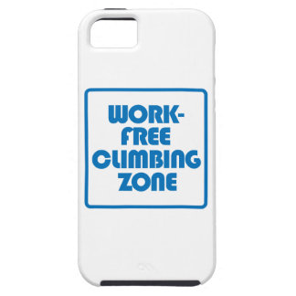 Work Free Climbing Zone iPhone 5 Case