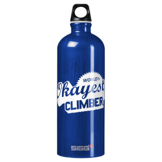 Work Free Climbing Zone Water Bottle