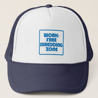 Work Free Shredding Zone Trucker Hat