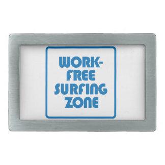Work Free Surfing Zone Belt Buckle