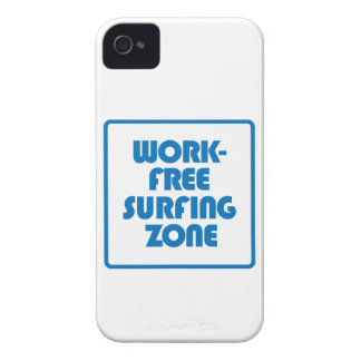 Work Free Surfing Zone iPhone 4 Covers