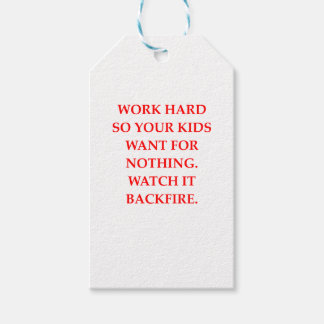 WORK GIFT TAGS