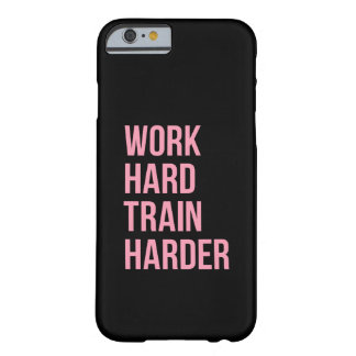 Work Hard Fitness Motivational Quote iPhone 6 Case