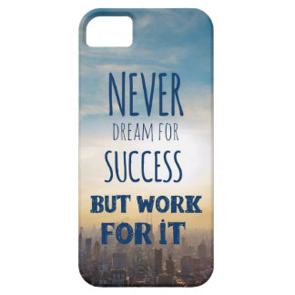 Work Hard iPhone 5 Cover