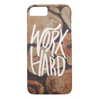 Work Hard iPhone 7 Case