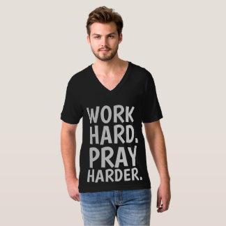 WORK HARD PRAY HARDER T-shirts