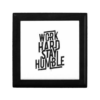 Work Hard Stay Humble Gift Box