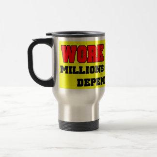 Work Harder Mug Gift