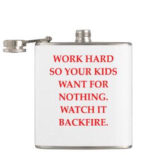 WORK HIP FLASK