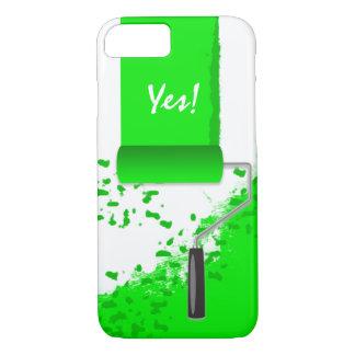 Work In Progress Green iPhone 7 Case