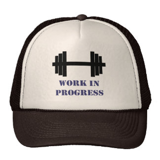 Work In Progress Gym Hats
