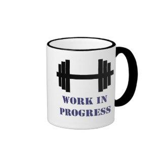 Work In Progress Gym Mugs