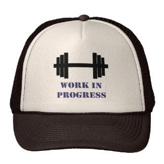 Work In Progress Gym Trucker Hat