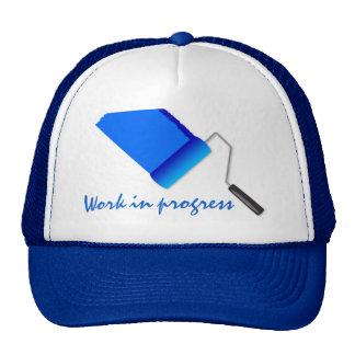 Work In Progress Navy Blue Trucker Hat