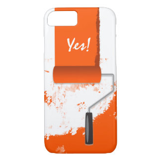 Work In Progress Orange iPhone 7 Case
