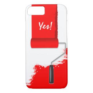 Work In Progress Red V2 iPhone 7 Case
