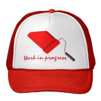 Work In Progress Red V2 Trucker Hat