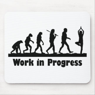 Work in Progress (Yoga) Mouse Pad