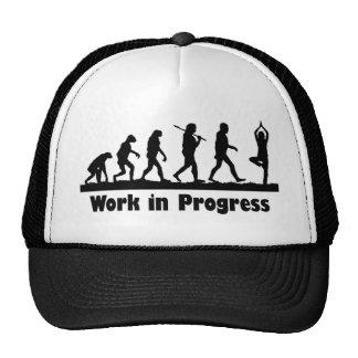 Work in Progress (Yoga) Trucker Hat