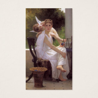 Work Interrupted, William-Adolphe Bouguereau Business Card