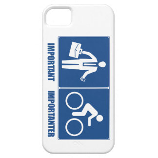 Work Is Important, Cycling Is Importanter iPhone 5 Case