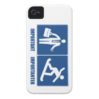 Work Is Important, Snowboarding Is Importanter iPhone 4 Case-Mate Case