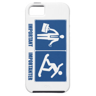 Work Is Important, Snowboarding Is Importanter iPhone 5 Cases